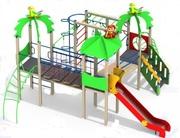 Детский игровой комплекс с символом Нового года