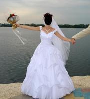 Продаётся свадебное платье в идеальном состоянии.